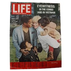 "LIFE Magazine  Dec. 24th 1964 "" Alert In Vietnam"""