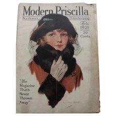 Modern Priscilla Magazine Feb. 1921