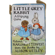 """Vintage Child's Playing Cards """"Little Grey Rabbit"""" Circa 1950's"""