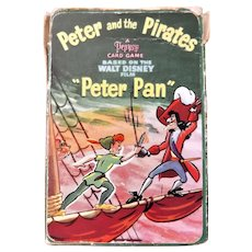Peter Pan & The Pirates Playing Cards