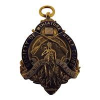 Rifle Shooting Medal - England 1935