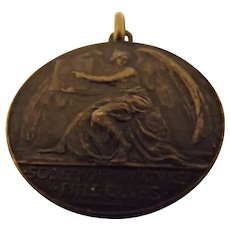 Bronze Medal 'Society of Miniature Rifle Clubs' 1900