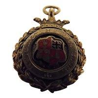 English 1922 KENSINGTON Rifle Club Shooting Medal