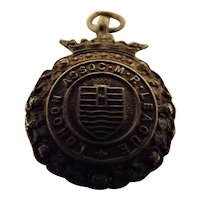 Shooting Medal 'London Assoc. Miniature Rifle League' 1913