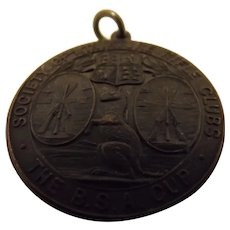 "Bronze Society of Miniature Rifle Clubs ""B.S.A. CUP 1929 Medal"