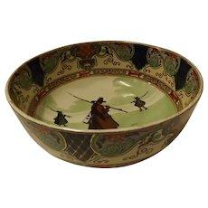"Royal Doulton Bowl ""Gallant Fishers"" - Isak Walton Ware"
