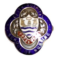 "Leith Hospital ""School of Nursing"" Badge - Scotland 1961"