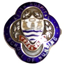 "Leith Hospital ""School of Nursing"" Badge - Scotland 1961"
