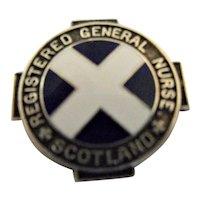 Scotland Registered General Nurses Badge - 1963