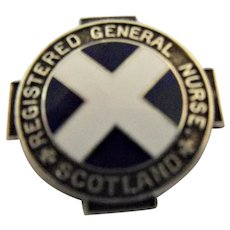 Scotland Registered General Nurses Badge - 1963