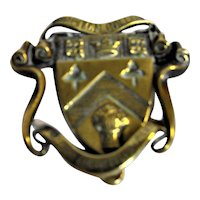 CLIFTON College of Bristol Brass Door Knocker