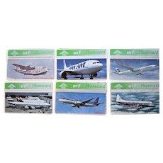 Vintage AIRLINE Phone Cards BT United Kingdom