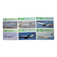Vintage Aviation Phone Cards BT United Kingdom