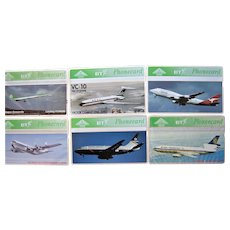 Vintage Aviation Phone Cards BT United Kingdom