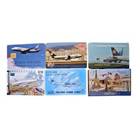 Vintage Aviation Phone Cards  Assorted