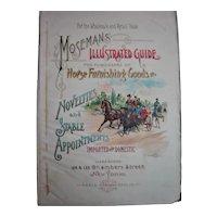 MOSEMAN'S Original Illustrated Guide HEADER Page - Circa 1892