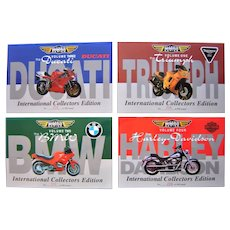 Vintage Mint Motorbike Collectors Phone Cards