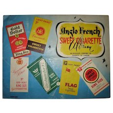 Anglo French Sweet Cigarette Album - Circa 1954