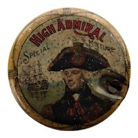 High Admiral Smoking Mixture Tobacco Tin