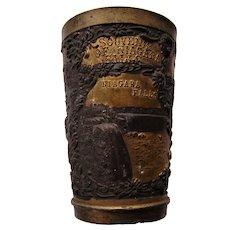 NIAGARA FALLS  Souvenir  Pewter Cup Circa 1900