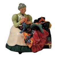 "Royal Doulton  Figurine ""The Wardrobe Mistress"""