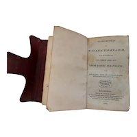 ANTIQUE Scottish 1831 Gaelic Prayer Book
