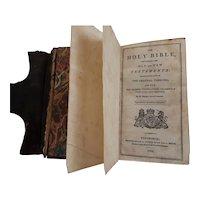 Georgian 1822 Pocket Holy Bible