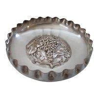 Art Nouveau Silver Plated Fruit Bowl Circa 1900