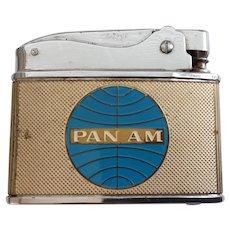 PAN AM Airways 1950's Promo Cigarette Lighter