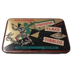 Gallahers Harlequin Flake Small Tobacco Tin