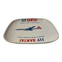 QANTAS V Jet 1960's Advertising Ashtray