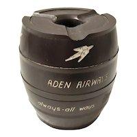 ADEN Airways  - Rare  Advertising Ashtray