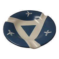 SWISS AIR Promotional Advertising Ashtray