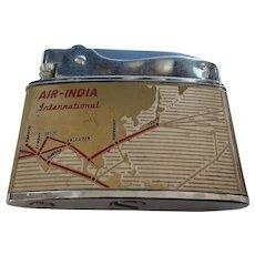 AIR INDIA  Souvenir Cigarette Lighter  Circa 1955-60