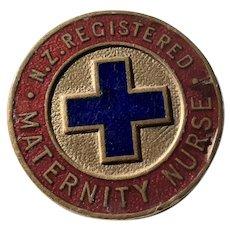 New Zealand Registered Maternity Nurse Badge