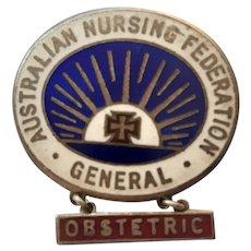 Australian  Nursing Federation Badge 1931