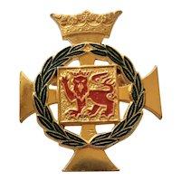 Royal Derwent Hospital, Tasmania, Australia,  Badge