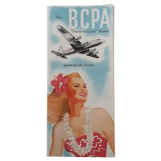 The B C P A Southern Cross Route Brochure