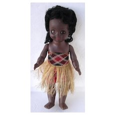 Vintage Maori Wahine Large Baby Doll