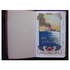 "CUNARD Shipping Souvenir ""My Trip Abroad"" 1927-1933"