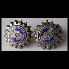 Pair of Antique VICTORIAN Earrings