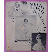 "Vintage 1934 Shirley Temple Book "" Twinkletoes"""