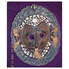 PNG Sepik River Vintage Rare Tribal Mask