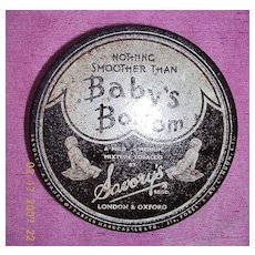 "Rare Vintage ""BABY'S BOTTOM""  Brand Tobacco Tin"