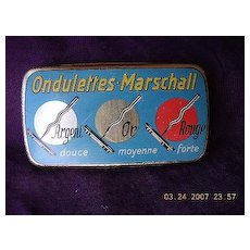 ONDULETTES-Marschell French Gramophone Needles Tin