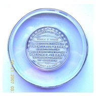 1947 National Liberty Insurance Co America Paper Weight