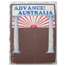 "Vintage ""Advance! Australia "" Magazines January -December 1928"