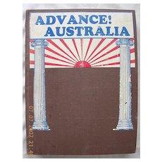 "Vintage ""Advance! Australia "" Magazines January -December 1928"
