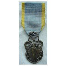 Vintage French Sports Medal Republique Francaise