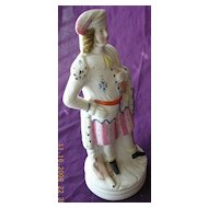 Gorgeous Victorian Bisque Figurine